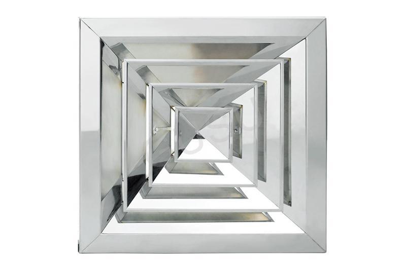 不銹鋼方形散流器