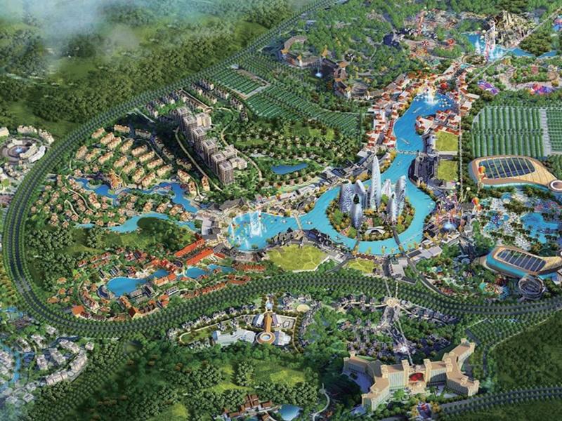 好莱坞(石林)国际文化旅游康养度假区项目