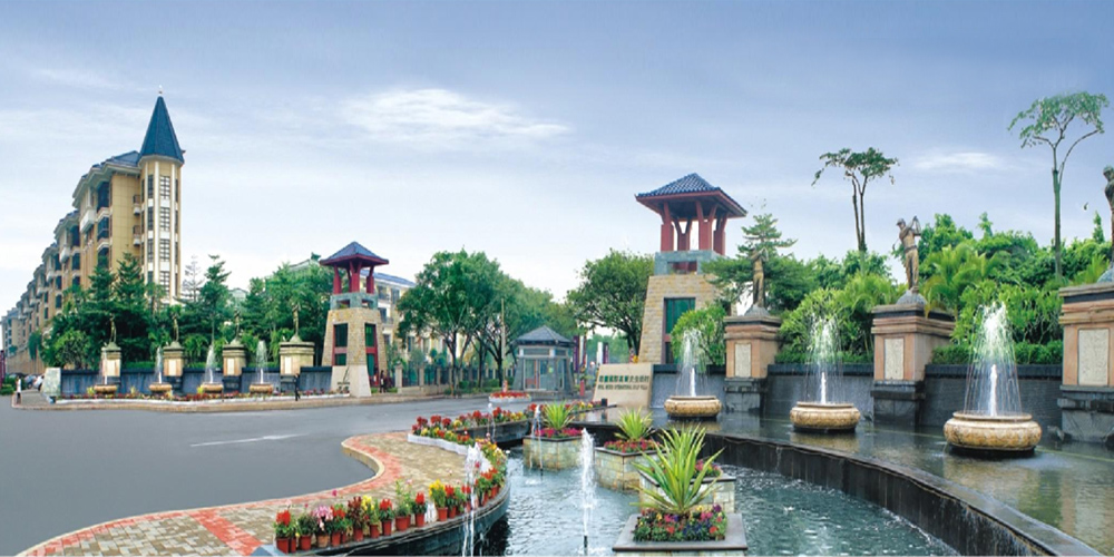 广东顺德君兰国际高尔夫生活村
