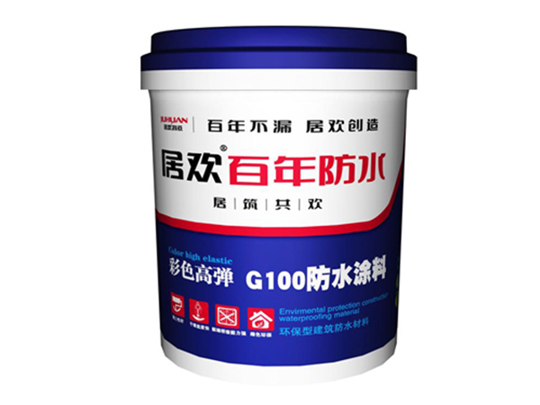 Juhuan Color High Elastic G100 Waterproof Coating