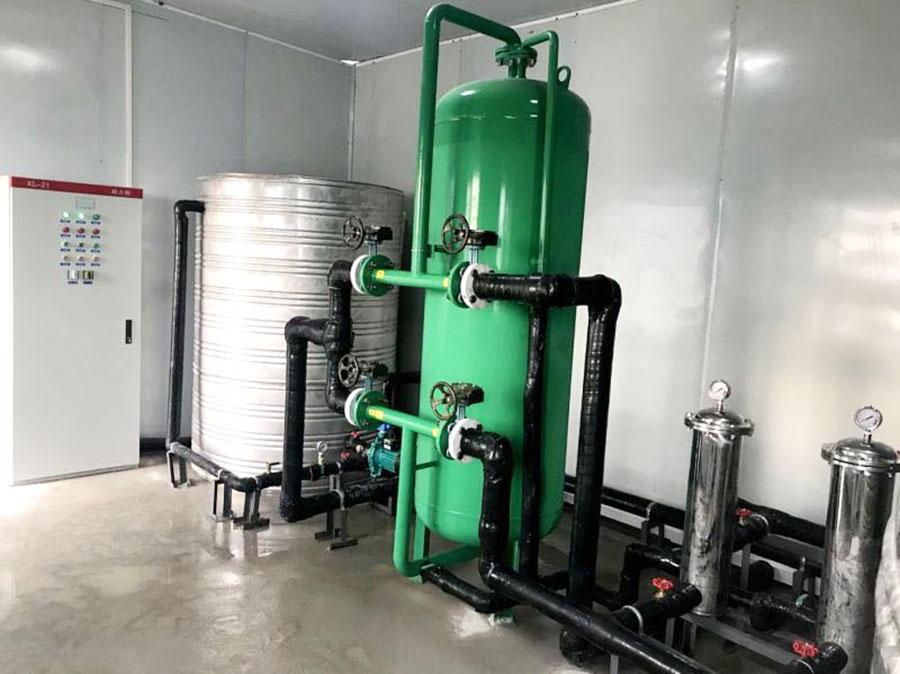港航局咸陽污水處理項目部水處理