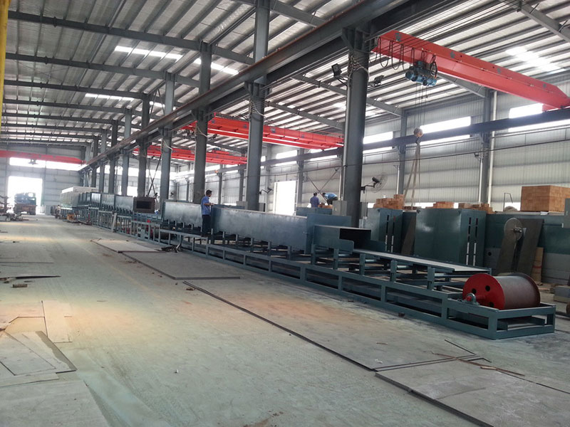 Bright annealing production line for stainless steel kitchenware