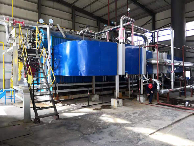 15t/h chemical dry gas boiler