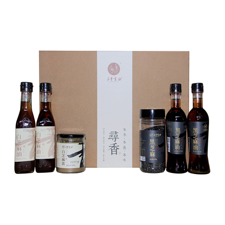 Gift pack Seasoning Brand Bulk Sesame Oil