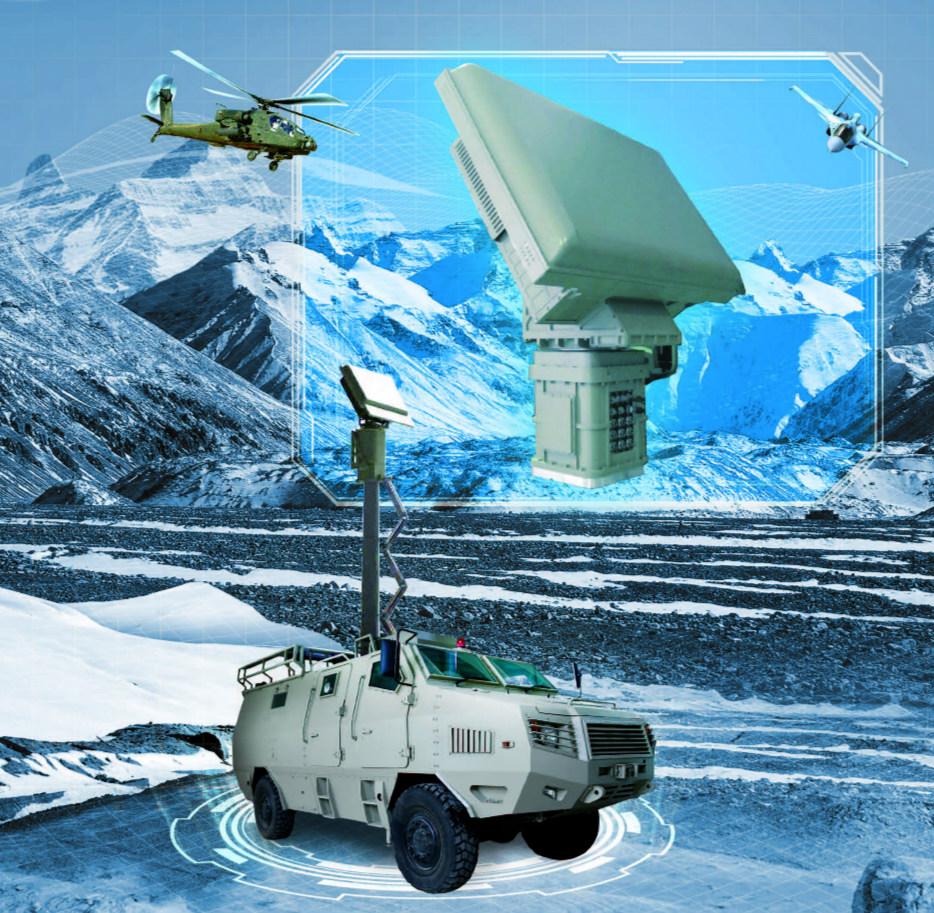 TH-R316 DBF 三坐标目标指示雷达