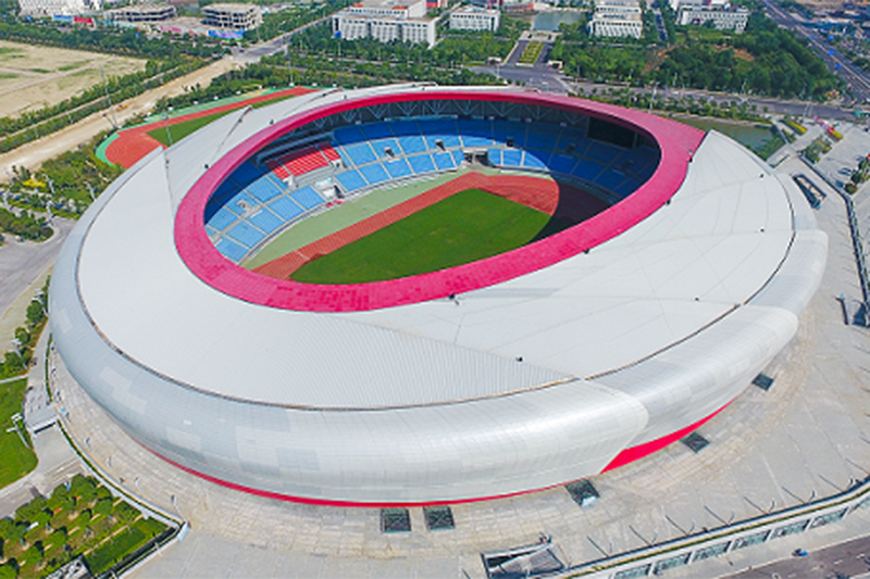 2017年魯班獎工程——江蘇中南建筑產業集團有限責任公司承建的鹽城體育場