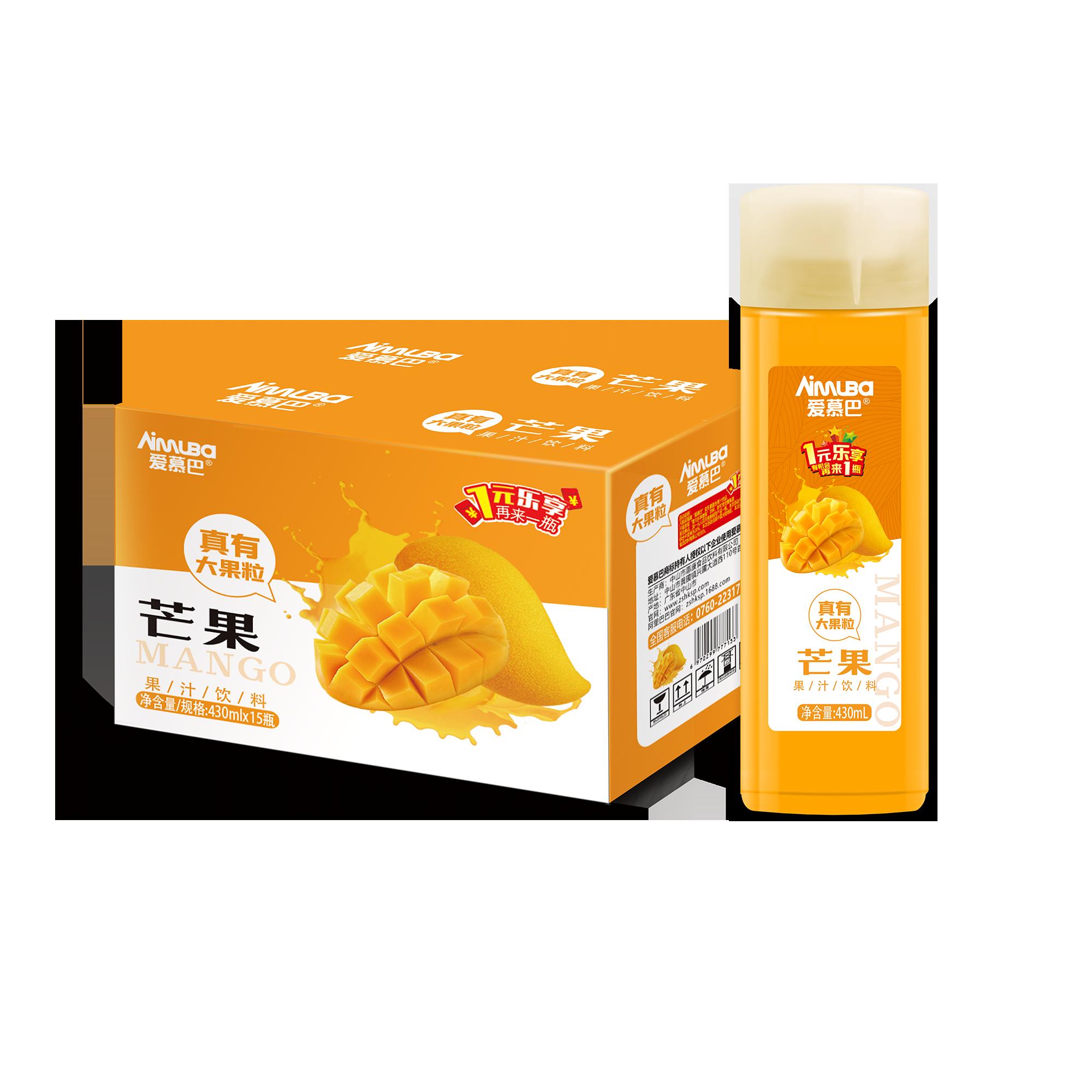 愛慕巴益生菌芒果汁