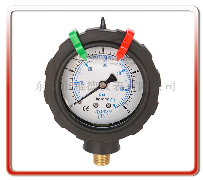 PP充油壓力表