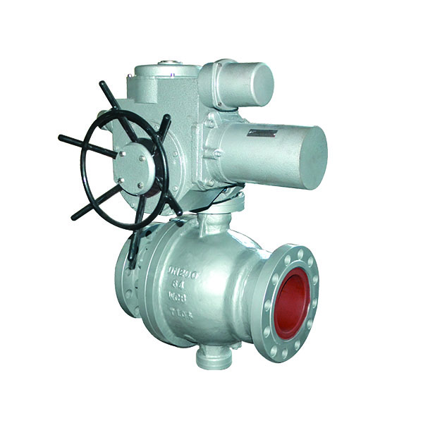 Electric cast stone high pressure ball valve