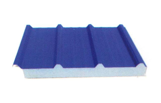 980型扣盖式夹芯板屋面板