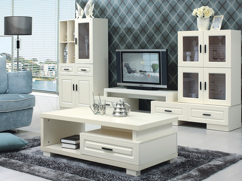 電視墻左柜、電視墻中柜、電視墻右柜