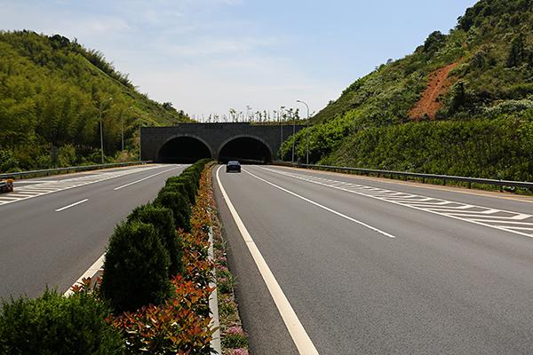 紹諸高速 蘭亭隧道