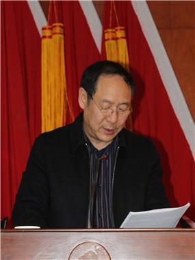 工会主席孙跃安作《职代会工作报告》