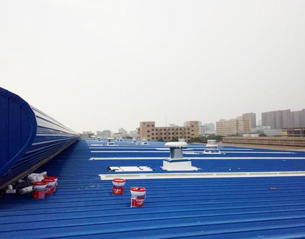 金屬屋面防水施工