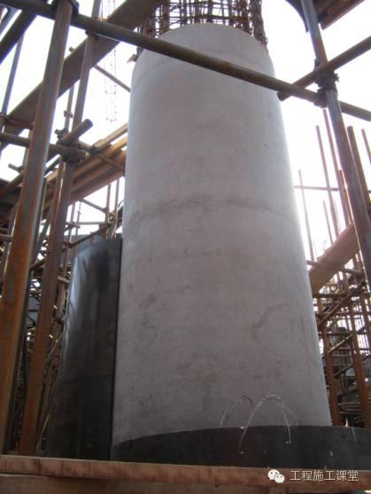 圓柱子加固施工方法