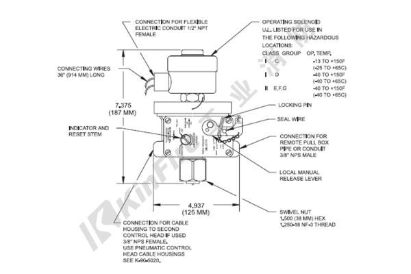 NOVEC1230-电动&电缆控制头