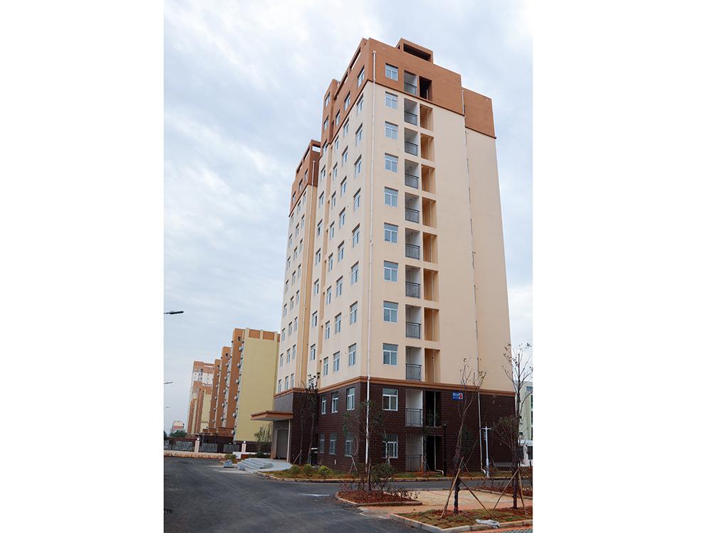 新余高新區2015年公租房照明小區A地塊工程
