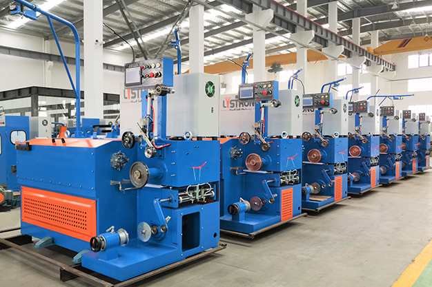 7 sets fine brass wire drawing machine shipped to India