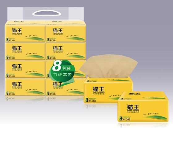 貓王本色400張8連包軟抽