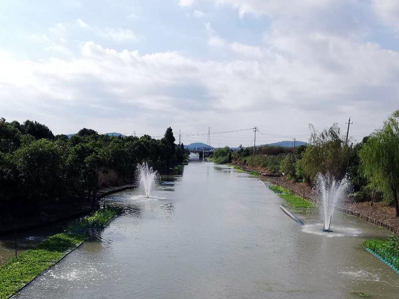 乍浦镇丰收河生态治理工程