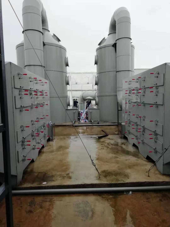 活性炭吸附塔工程案例
