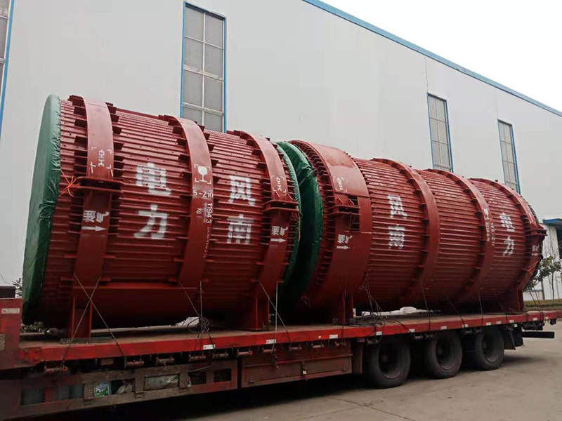 Waste heat high temperature flue delivery