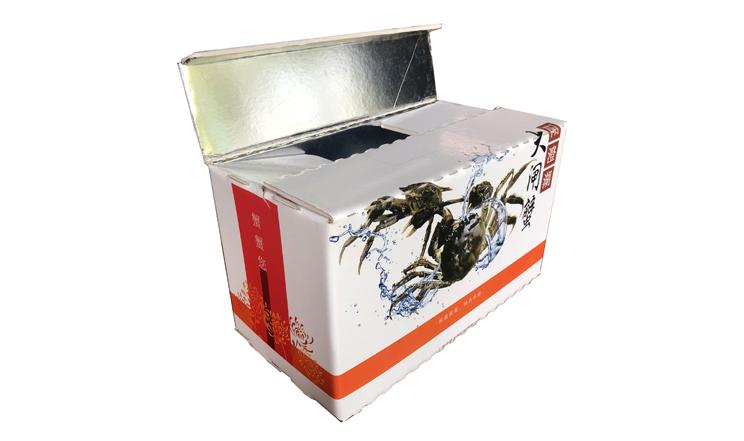 生鲜PS发泡板保温箱