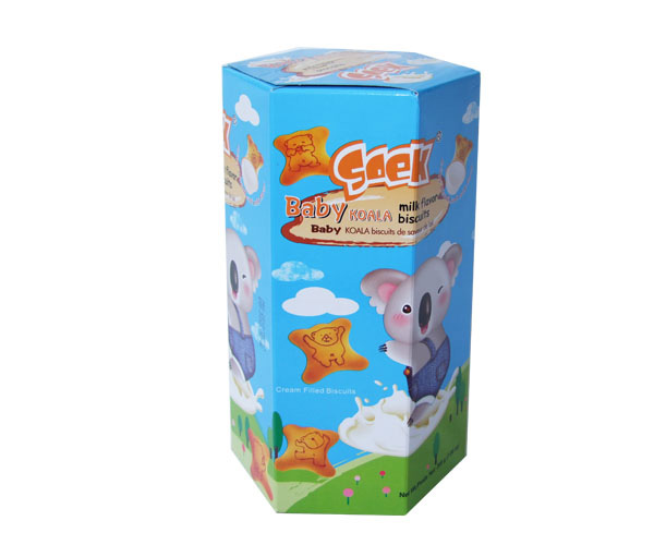 Baby Koala Cream Filled Biscuits Milk Filling 200gX10boxes 55X25X23cm