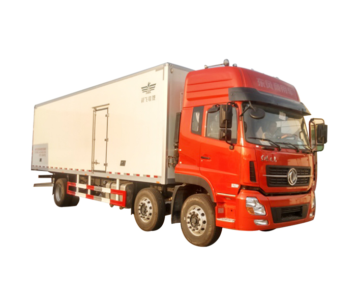 Refrigerated truck for distance