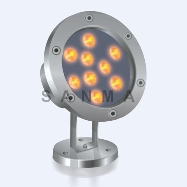 10W LED水底灯