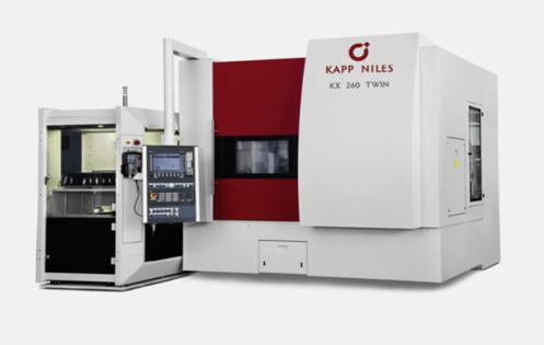 德国KAPP高速数控双工位260磨齿机