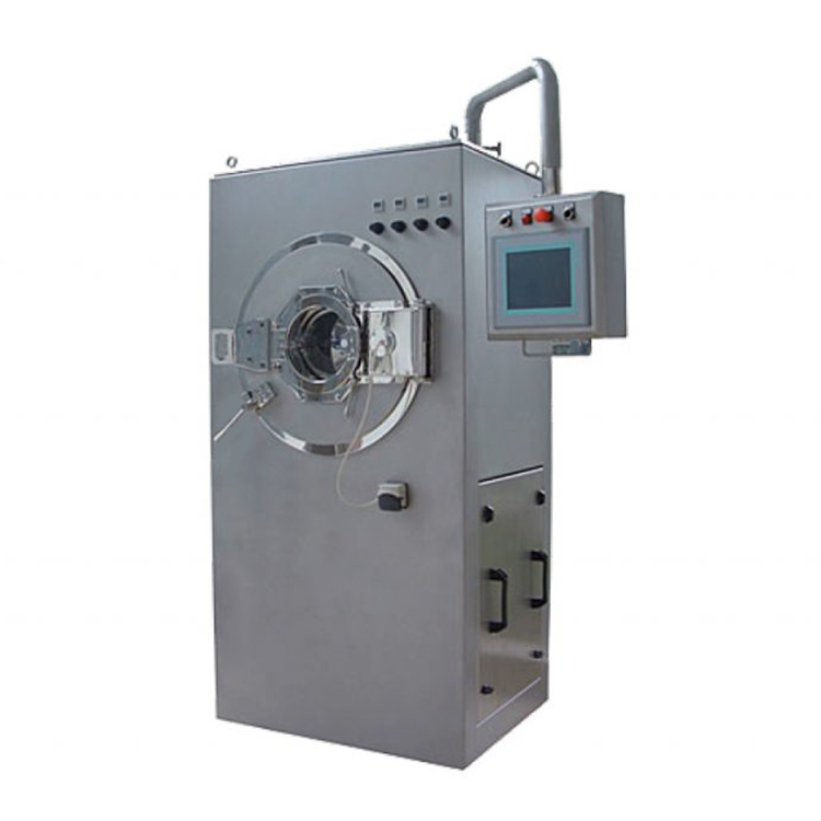 Candy Film Coating Machine Low Energy Consumption And Small Floor Area