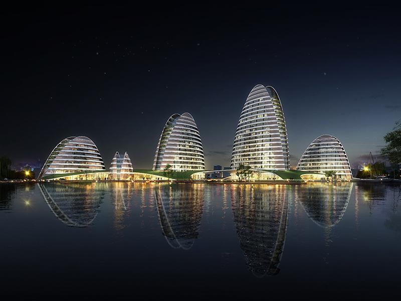 智慧生态城创新服务中心项目
