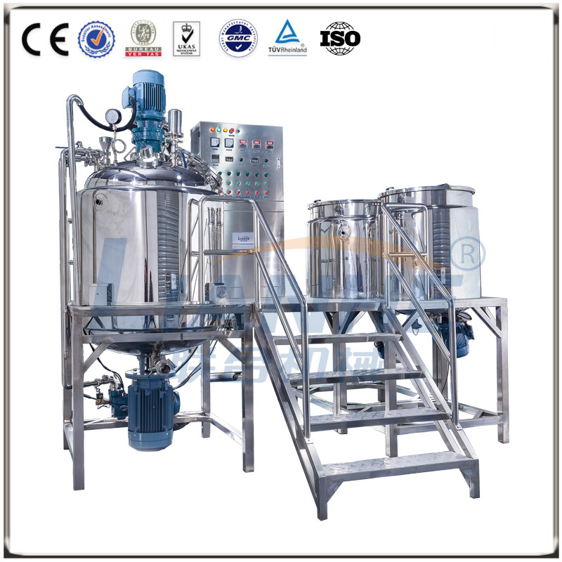 VME-500L Fixed Type Vacuum Emulsifying mixer