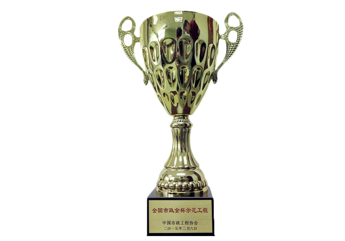 全国市政金杯示范工程奖杯