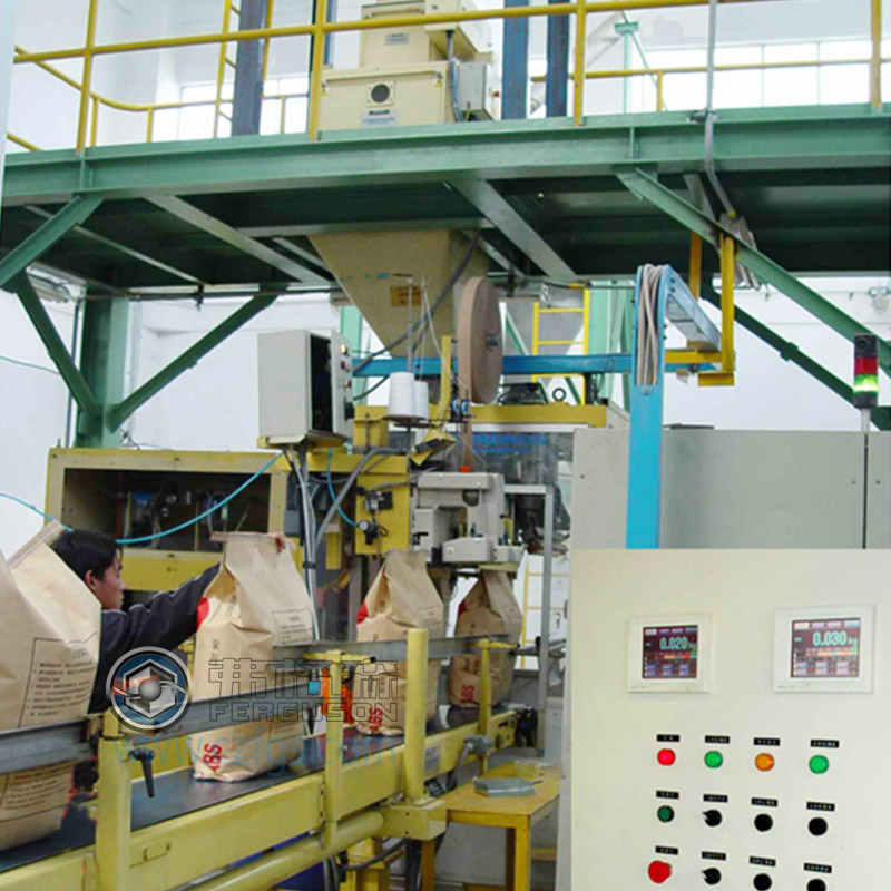 Packing scale production line