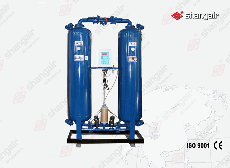 WZ系列有热无热再生吸附式干燥机