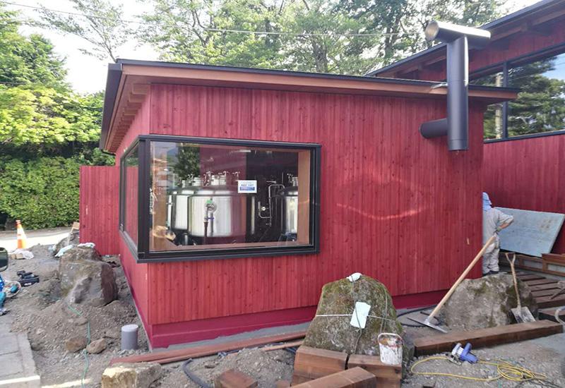 2016年9月 日本300L 精釀啤酒酒吧交鑰匙工程完成安裝