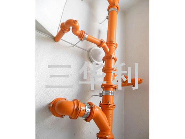 B型法蘭管件排水系統