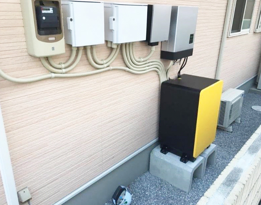 10.0kwh high voltage energy storage system installed in Japan