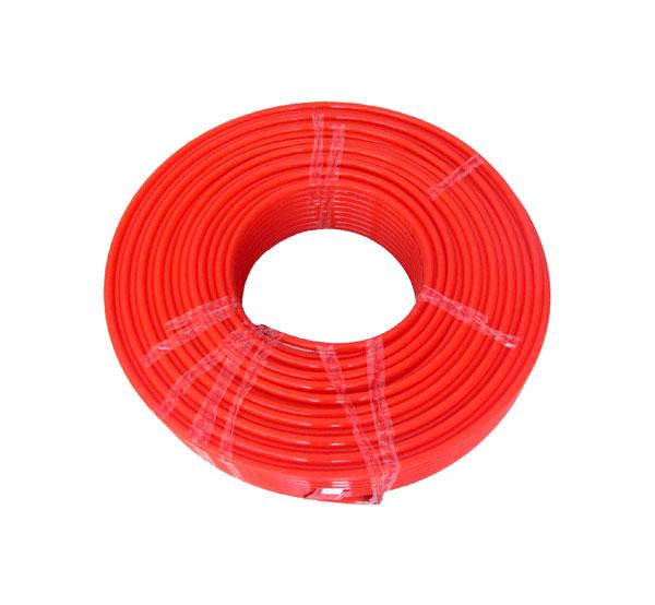 桔红色精品家装地热管