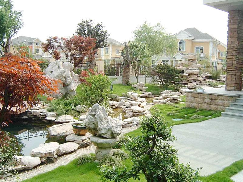 家庭小院景观设计与施工