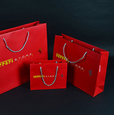 Ferrari Luxury  packaging box  handmade gift box
