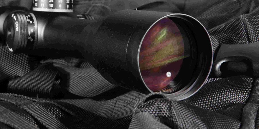 如何使瞄準鏡的彈著點在鏡片的中央位置