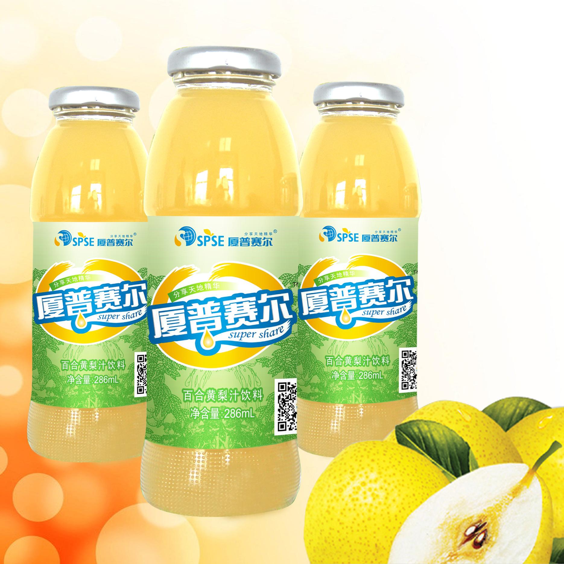 286mL百合黃梨汁飲料