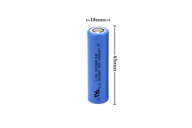 BFN 18650-2000mAh 中倍率电池/平衡车电池