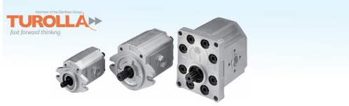 Gear pump and motor series
