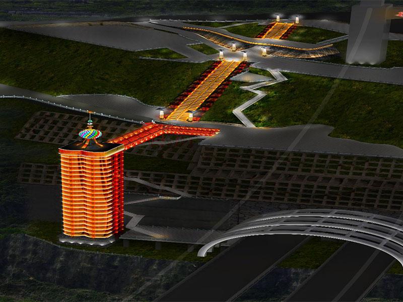 湖南吉首矮寨大桥旅游必威体育登录滚球必威体育官方竞猜、自动扶梯工程项目