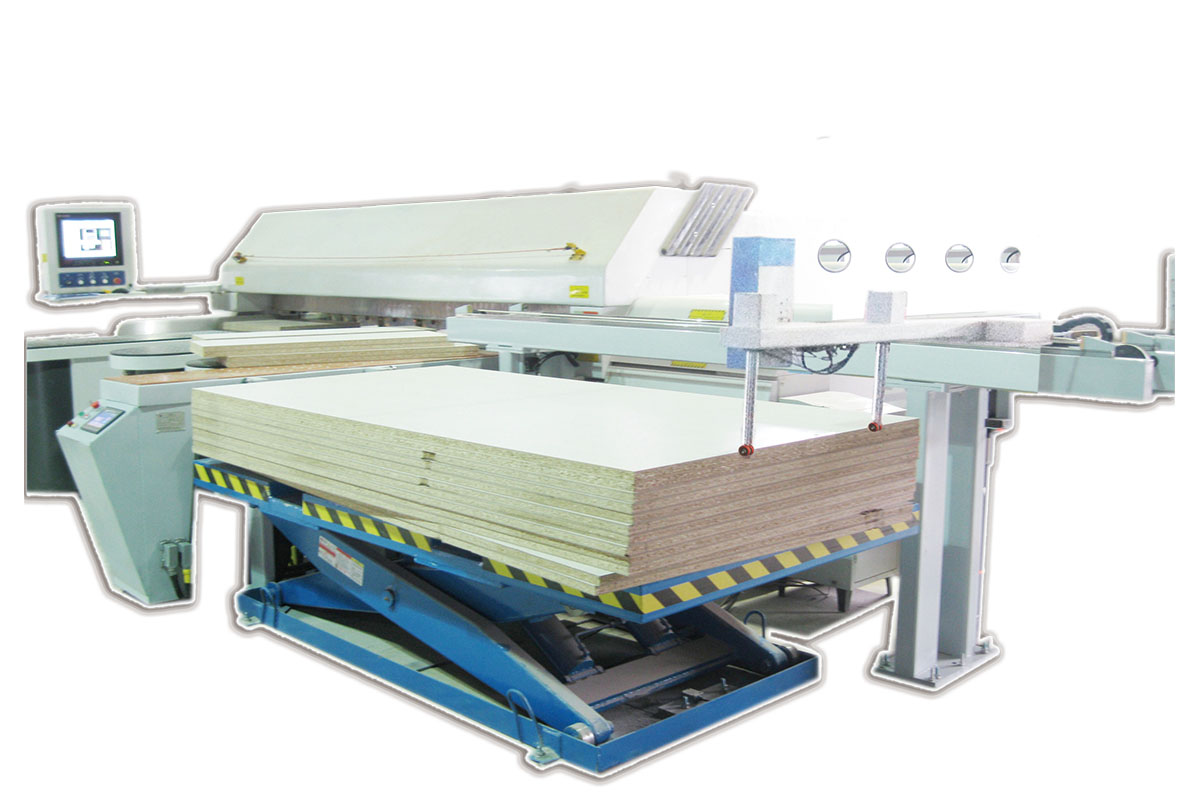 Electronic saw light automatic feeder