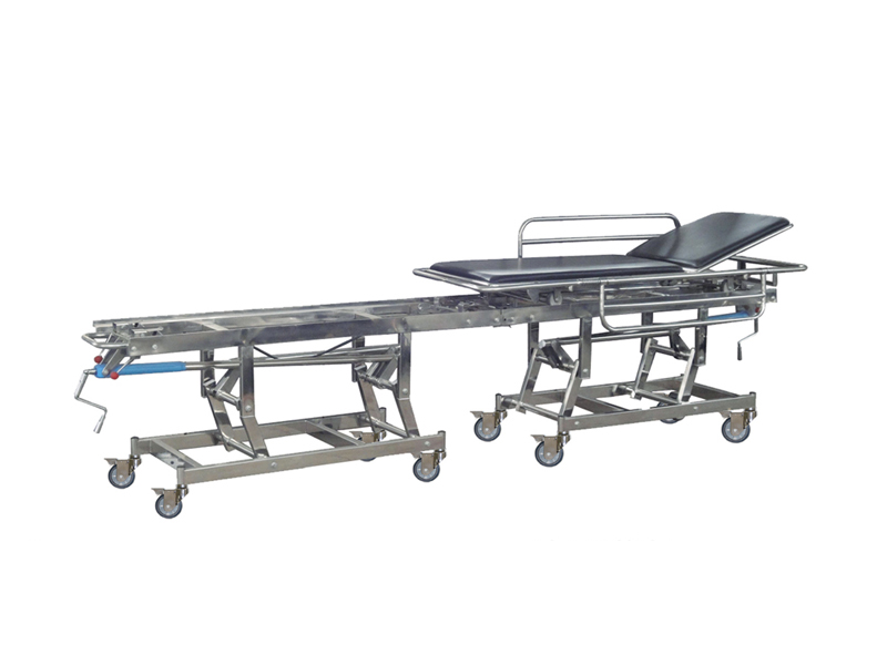 B-1-1 Stainless steel connecting stretcher for operation room